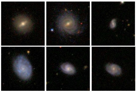 Examples of Barred and Unbarred Galaxies from GZ2