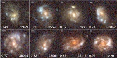 Clumpy spiral galaxies