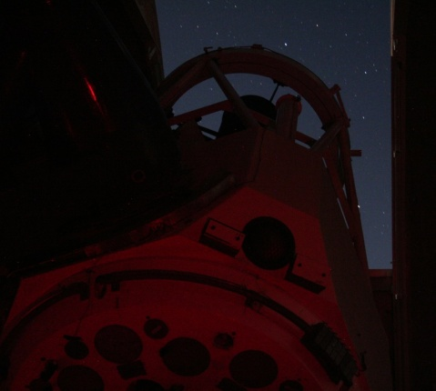 Kitt Peak 2.1m telescope at work