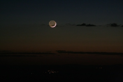 Kitt Peak moonset