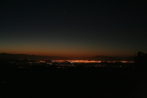 Dawn over Tucson from Kitt Peak