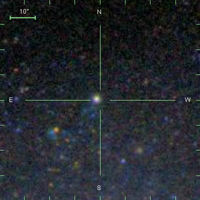An extragalactic globular cluster