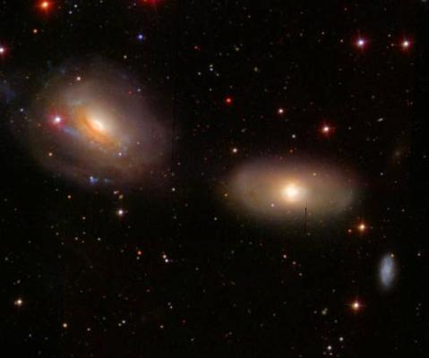sextans galaxies