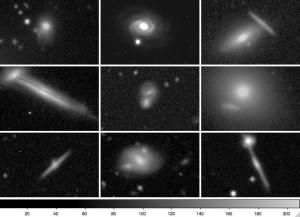 Overlapping galaxy pairs from KPNO 2.1m telescope