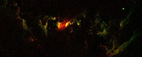 UGC 7342 Hubble image