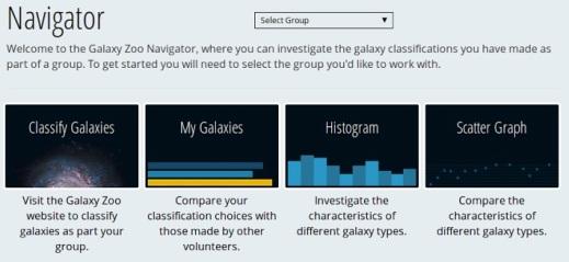 Galaxy Zoo Navigator