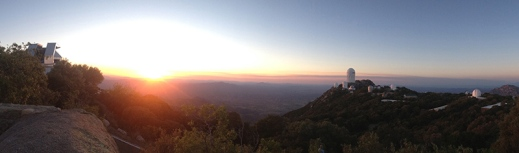 Kitt Peak at sunset, 13 may 2013