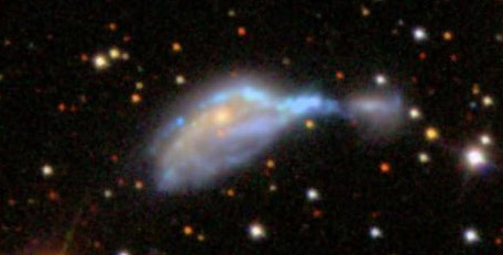 Just before the upgrade started, we were discussing NGC 6745 on Talk.