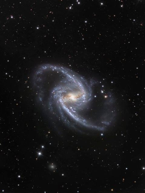 The Great Barred Spiral Galaxy