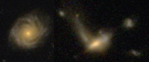 CANDELS featured galaxies