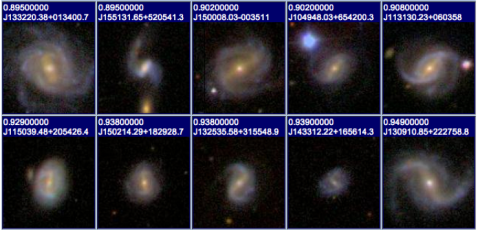 Images retrieved from SDSS Skyserver