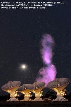 Centaurus A in the radio sky