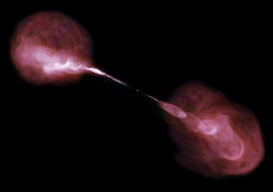 How do black holes form jets?