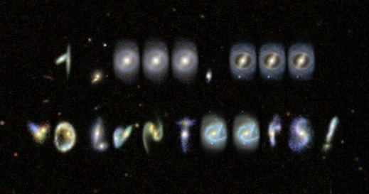 one million in galaxies