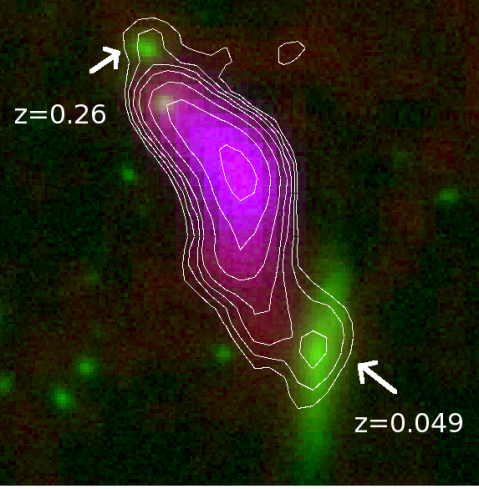Radio Galaxy Zoo: ARG00025v9