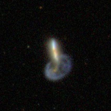 Mayall's Object in the Sloan Digital Sky Survey