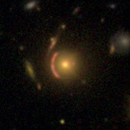 Gravitational lens in CANDELS