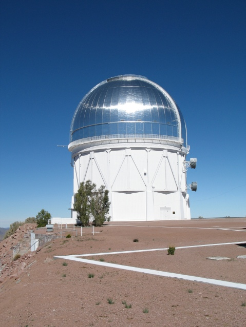 The Victor M. Blanco 4m telescope, located at CTIO in northern Chile. Image courtesy NOAO.